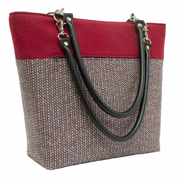 'Bit of Bling' Wool Handbag