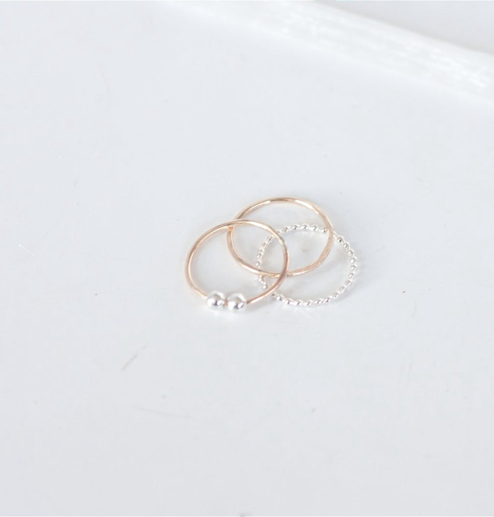 Ruthie Ring Stack