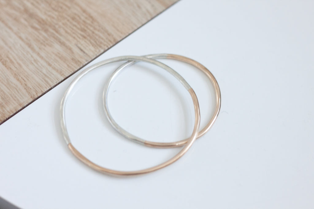 Zion Two-Toned Full Bangle