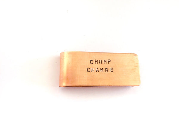 Chump Change Money Clip