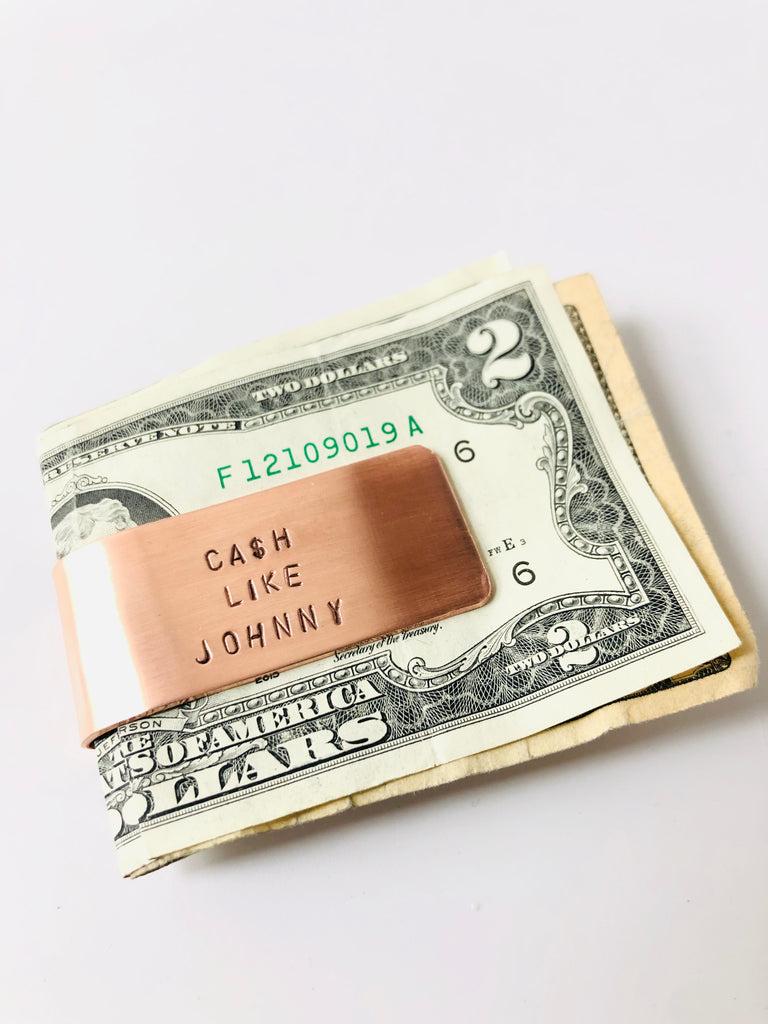 Ca$h Like Johhny Money Clip