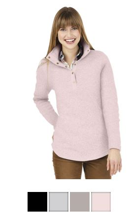 611eb0826e3c12 DM415 District Made® - Ladies Cardigan Sweater – BEVCOMM SHOP
