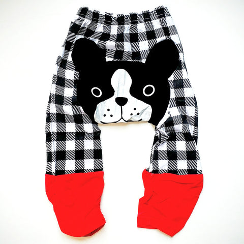 Casual Cotton Puppy Bottom Baby Pants - Unisex