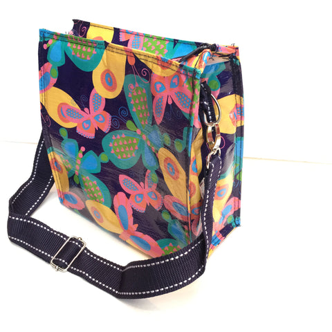 Butterfly Insulated Lunch Sack