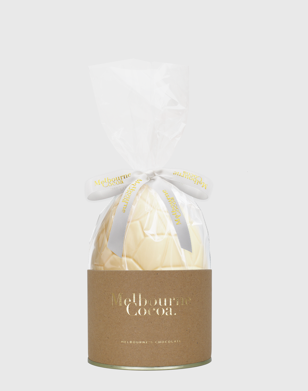 Melbourne Cocoa White Chocolate Egg 150g