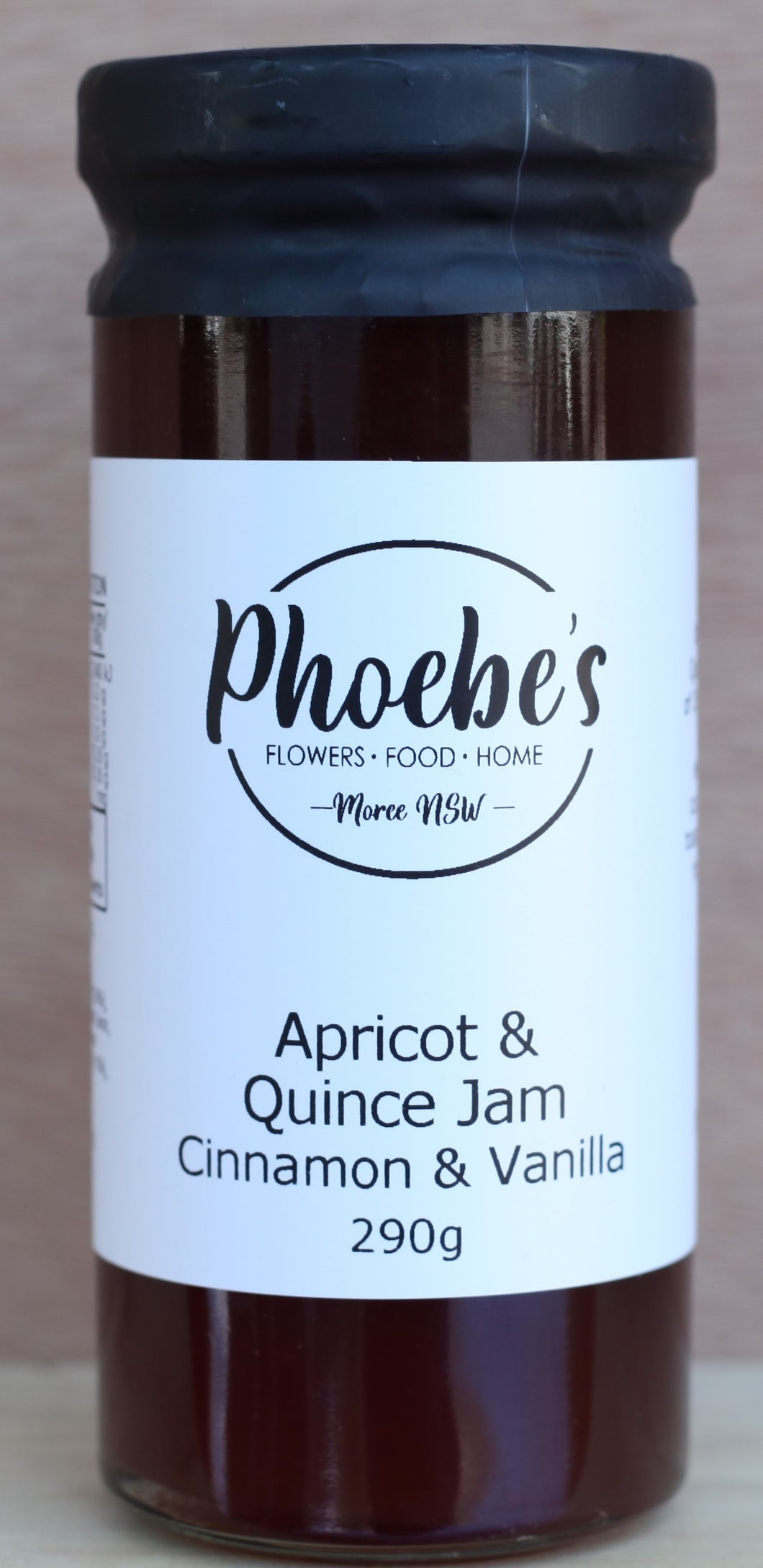 Phoebe's Apricot and Quince Jam with Cinnamon & Vanilla