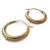 Adara -18K Gold Hoop Earrings