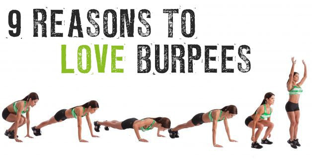 9 Reasons to LOVE Burpees