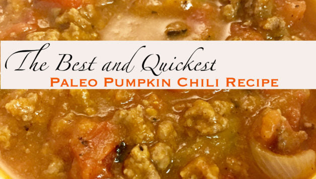 The Best Easy Paleo Chili Pumpkin Recipe