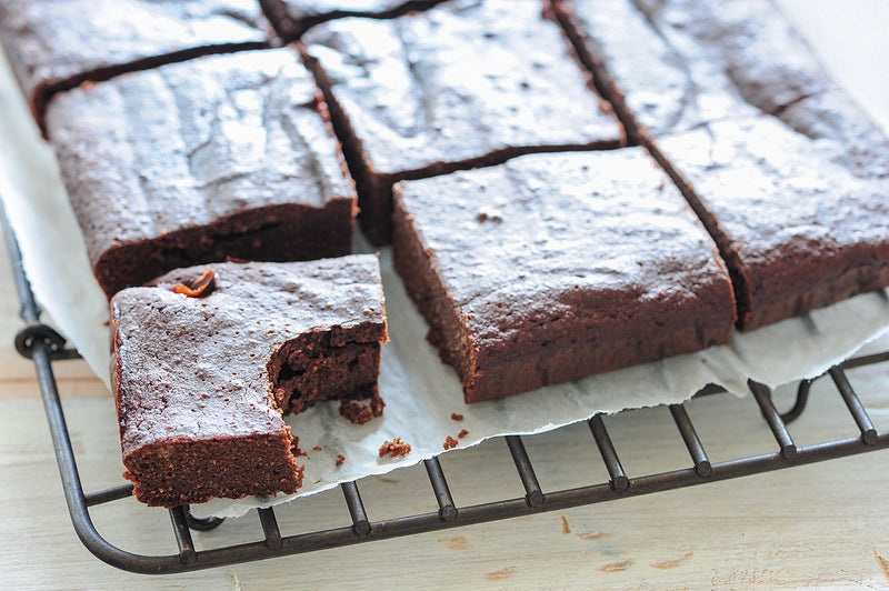 Triple Chocolate Paleo Brownies Recipe