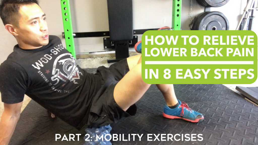 How To Relieve Lower Back Pain In 8 Easy Steps - Part 2: Mobility Exercises