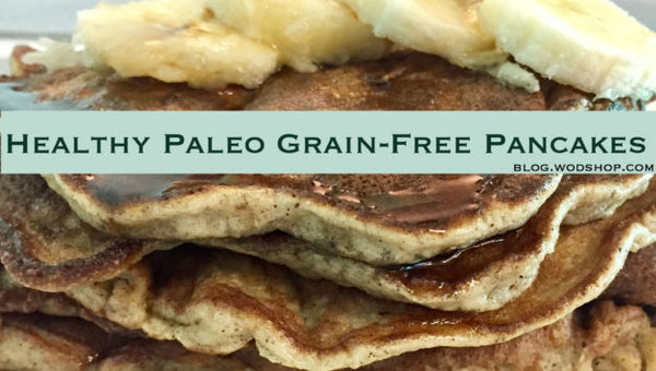 Healthy Paleo Pancakes with Banana and Grain-Free