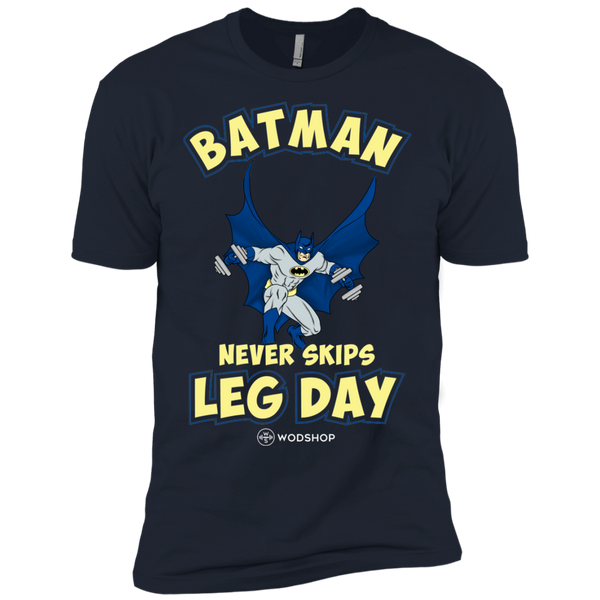 Batman Never Skips Leg Day Men's T-Shirt