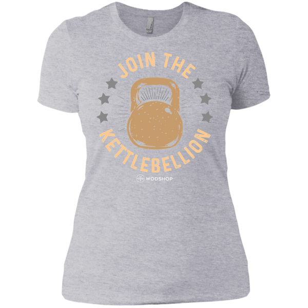 Join the Kettlebellion v2 Women's T-Shirt