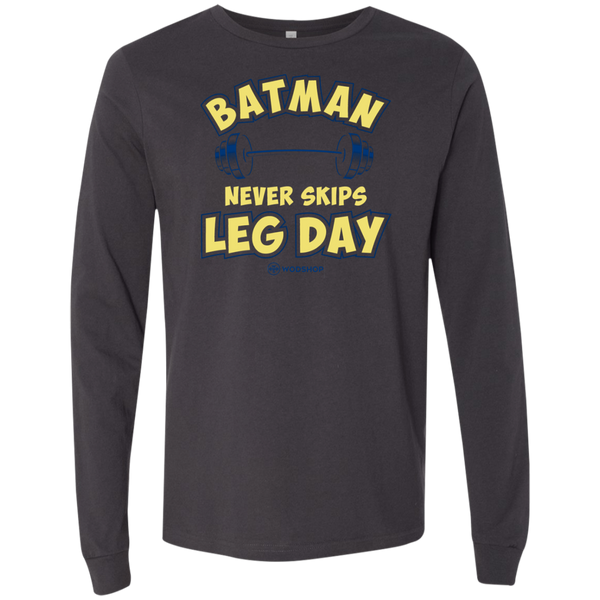 Batman Never Skips Leg Day v2 Long Sleeve