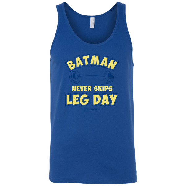 Batman Never Skips Leg Day v2 Men's Tank