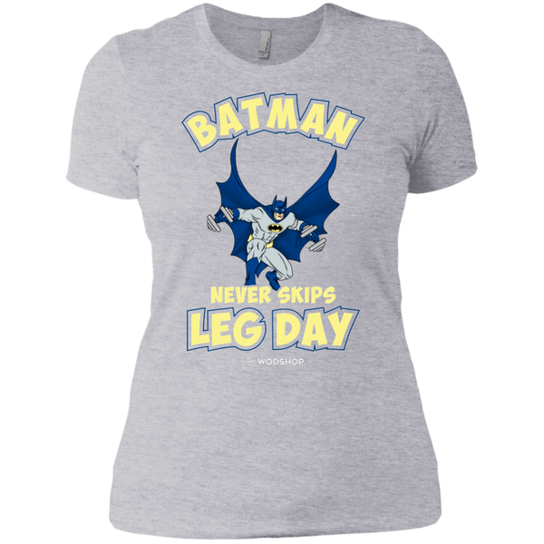 Batman Never Skips Leg Day Women's T-Shirt