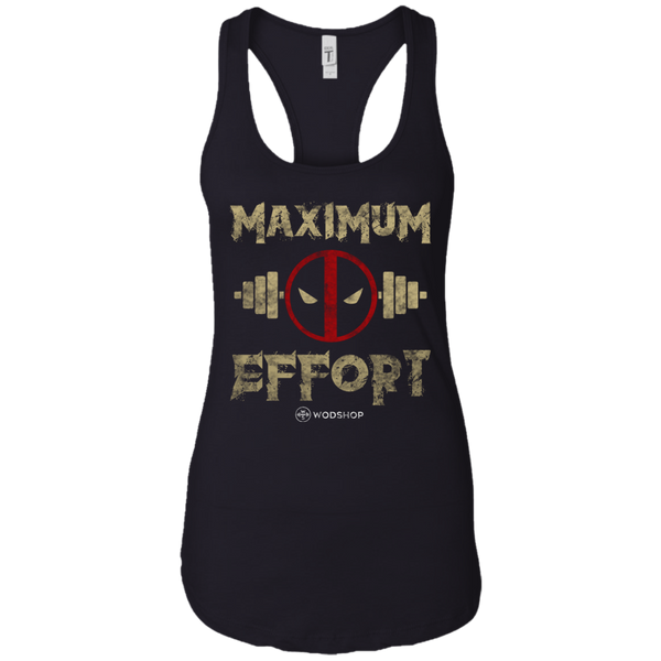 Maximum Effort Women's Tank