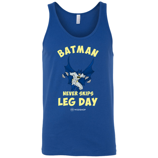 Batman Never Skips Leg Day Men's Tank