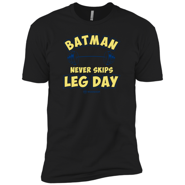 Batman Never Skips Leg Day v2 Men's T-Shirt
