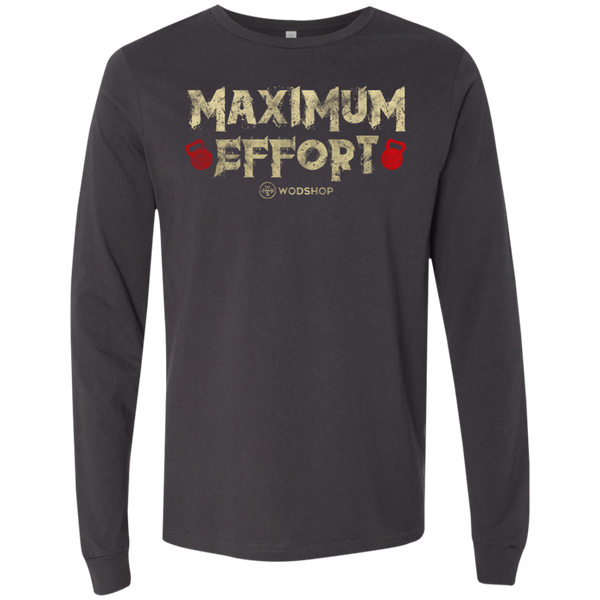 Maximum Effort v2 Long Sleeve