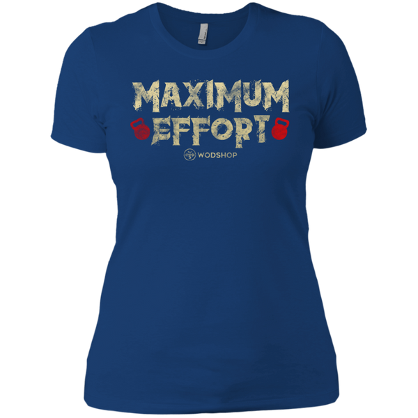 Maximum Effort v2 Women's T-Shirt