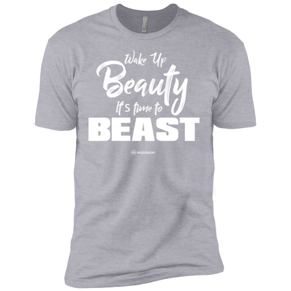 Wake Up Beauty It's Time To Beast Men's T-Shirt