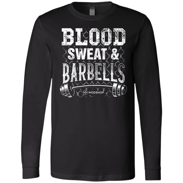 Blood, Sweat & Barbells Long Sleeve