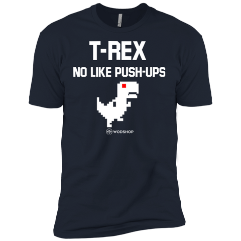 T-Rex No Like Push-Ups T-Shirt