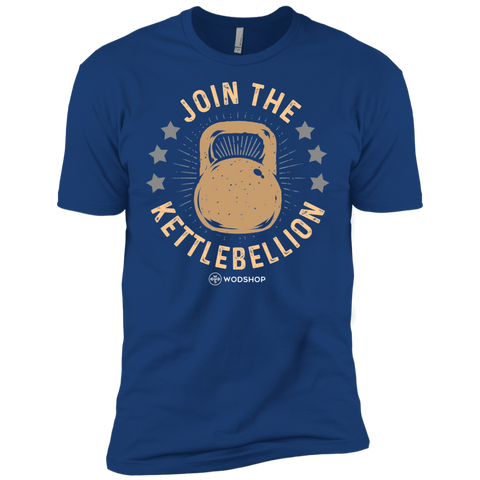 Join the Kettlebellion v2 Men's T-Shirt