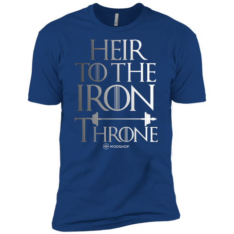 HEIR TO THE IRON THRONE Men's T-Shirt