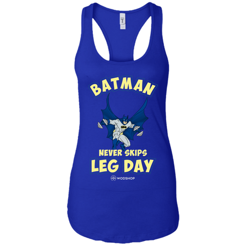 Batman Never Skips Leg Day Women's Tank