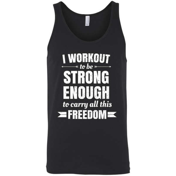 Fitness Freedom Men's Tank