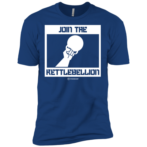 Join The Kettlebellion Men's T-Shirt