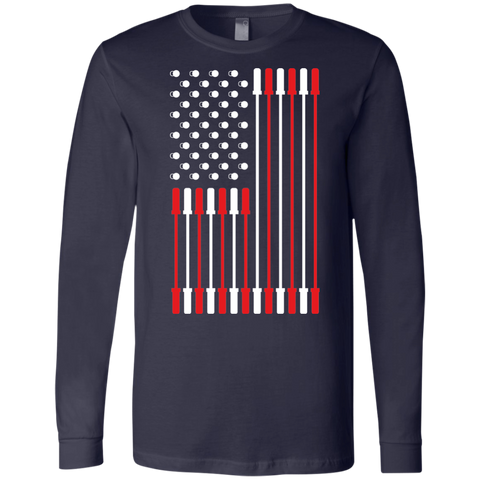Barbell Flag Long Sleeve