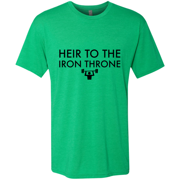 Heir to the Iron Throne Triblend Men's T-Shirt