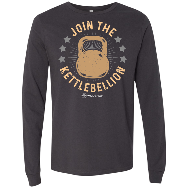 Join the Kettlebellion v2 Long Sleeve