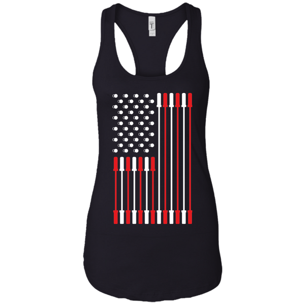 Barbell Flag Women's Tank