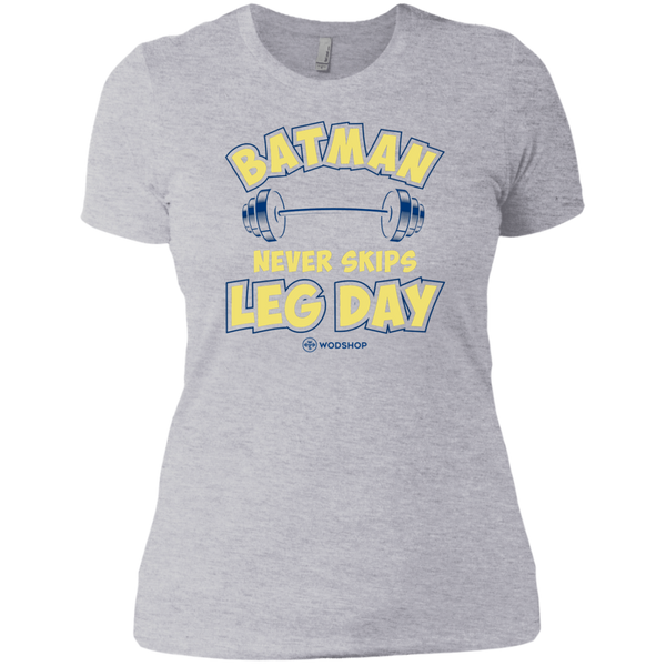 Batman Never Skips Leg Day v2 Women's T-Shirt