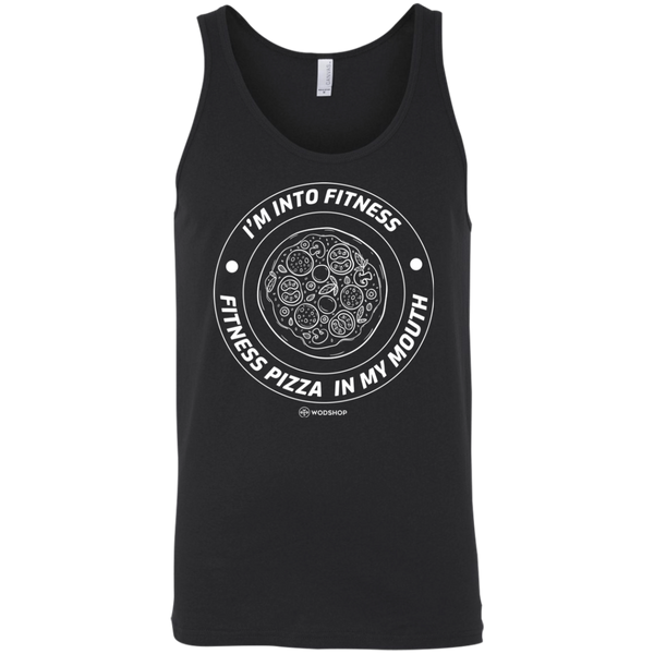 I'm Into Fitness... Fitness Pizza In My Mouth Men's Tank