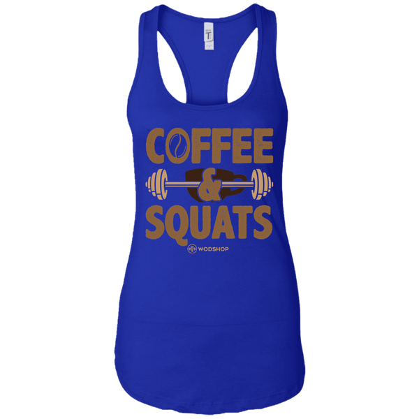 Coffee and Squats Women's Tank