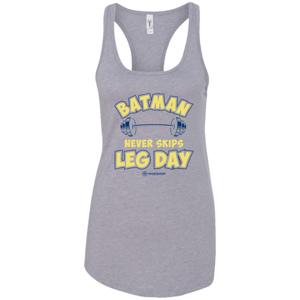 Batman Never Skips Leg Day v2 Women's Tank