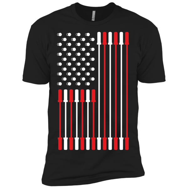 Barbell Flag Men's T-Shirt