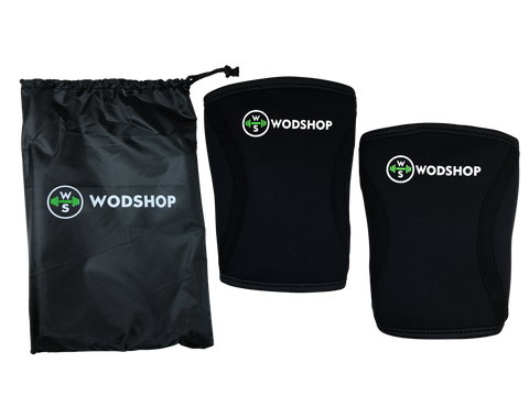 WODshop RX5 Knee Sleeves - 1 Pair 5mm Knee Bands