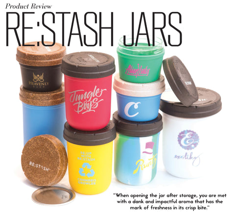 Re Stash The World S First Mason Jar Based Child Resistant Container Re Stash
