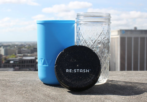 Blue 12oz Re:stash Jar