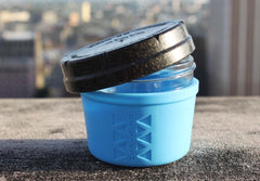 Blue 4oz Re:stash Jar