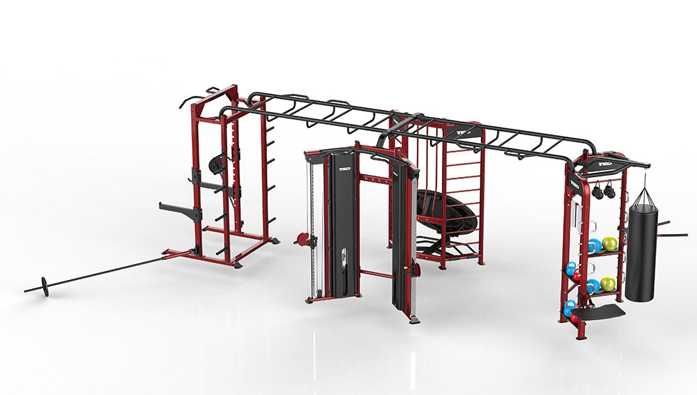 Stretching Boxing Rebounder Power Rack Station Tko