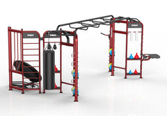 Stretching+Boxing+Rebounder Station