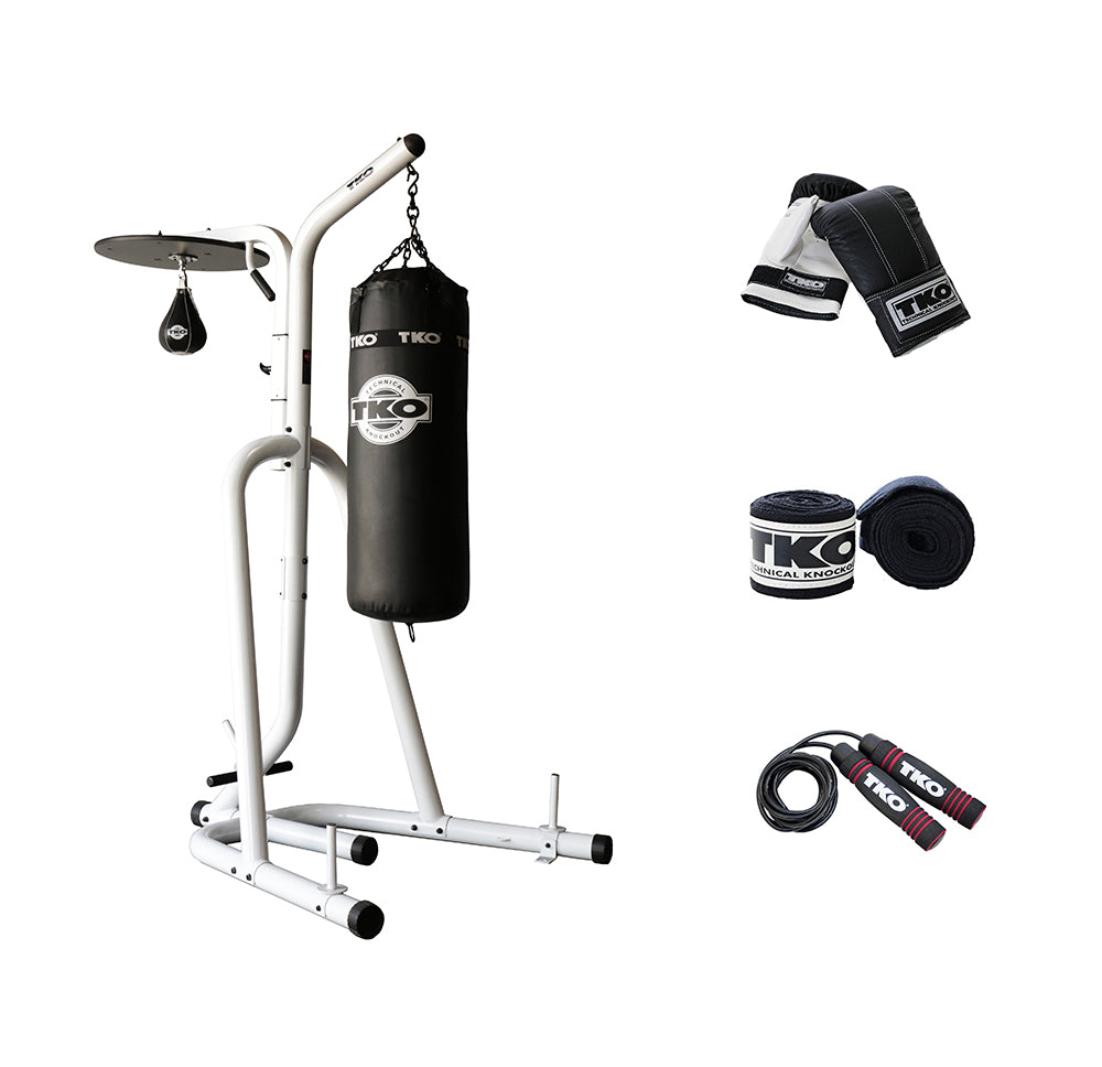 Deluxe Heavy Bag Stand w/Platform Boxing Package